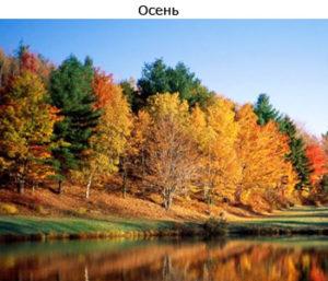 теория времен года осень