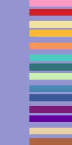 сиреневый цвет сочетается со многими оттенками розового, голубого, фиолетового